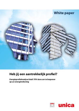 Energie besparen met een energieprofielanalyse